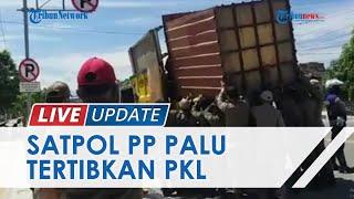 Satpol PP Tertibkan Lapak Pedagang di Kota Palu, Dianggap Ganggu Keindahan dan Pengguna Bahu Jalan