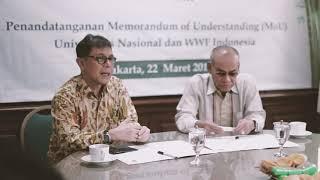 Universitas Nasional – MOU UNAS dengan WWF