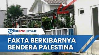 Fakta Bendera Palestina Berkibar di Depok & Tangerang Jelang HUT RI, Kini Diturunkan & Disita Polisi