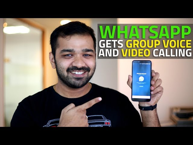 WhatsApp Group Video, Voice Calling Out on Android Beta