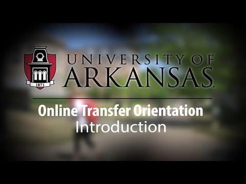Online Transfer Orientation