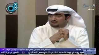 خالد الروضان مُنتج فيلم سوق المناخ الوثائقي بـ توك شوك مع الوشيحي على قناة اليوم 14ـ5ـ2012