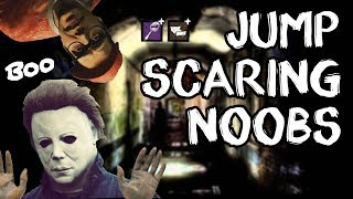 JUMPSCARING NOOBS | Dead by Daylight Killer | Scratched Mirror