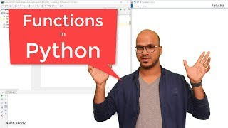 #32 Python Tutorial for Beginners | Functions in Python