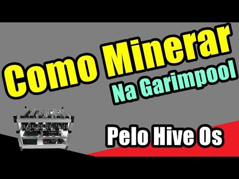 Minerar na Garimpool - Pelo Hive OS