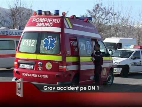 Grav accident pe DN 1