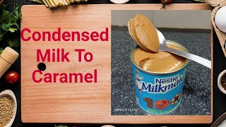 caramel sauce recipe using condensed milk