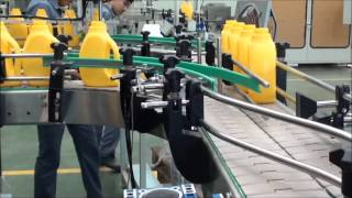SMC Product Conveyor With Bottle Rotation And Leak Tester