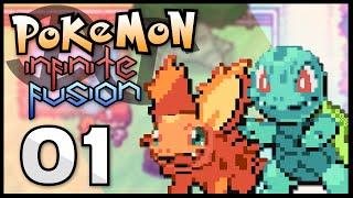 Pokémon Infinite Fusion - Episode 1 | Fusion Start!