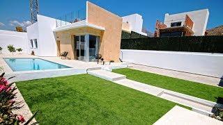 Новое строительство недорогих вилл в районе Balcon De Finestrat, Финестрат, Коста Бланка, Испания