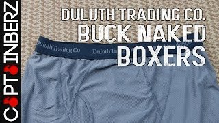 Duluth Trading Co. Buck Naked Boxers