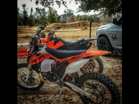 2014 KTM 300 XC   First Ride ,Motocross & Trails