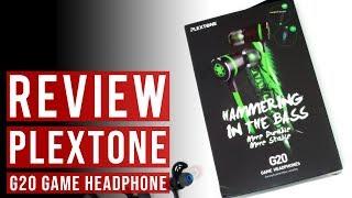 Headset Gaming Plextone G20 Earphone Headphone Game Handsfree Handset