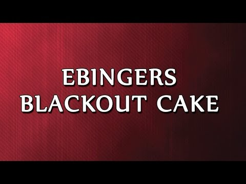 Ebingers Blackout Cake | RECIPES | EASY TO LEARN