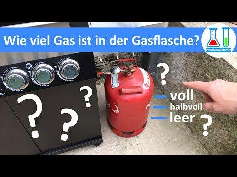 Füllstand der Gasflasche in Sekunden ermitteln - ganz einfach und genau - ideal für den Gasgrill