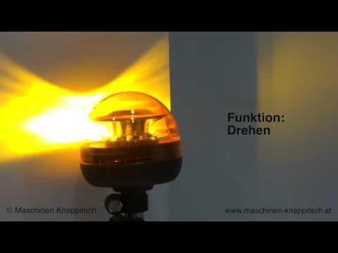 LED Rundumlicht, Blitzleuchte 12 LED's