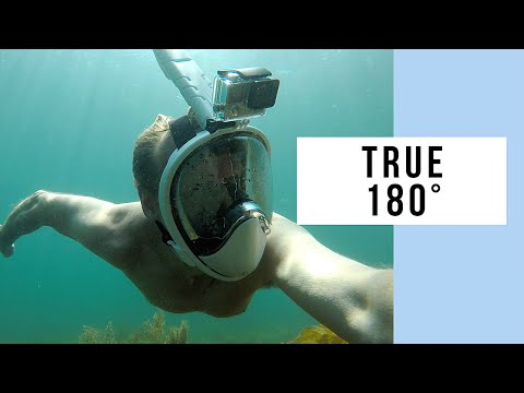 AugustTrek True 180 Full Face Snorkel Mask Review – No Edge Distortion