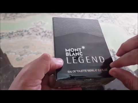 MontBlanc Legend EDT unboxing and review