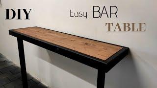 Bartisch selber bauen/ Tisch/ Bartisch/Stehtisch/Table DIY/ Bartisch einfach selber bauen
