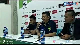 Konferensi Pers PSIS Semarang Usai Kalahkan Arema FC