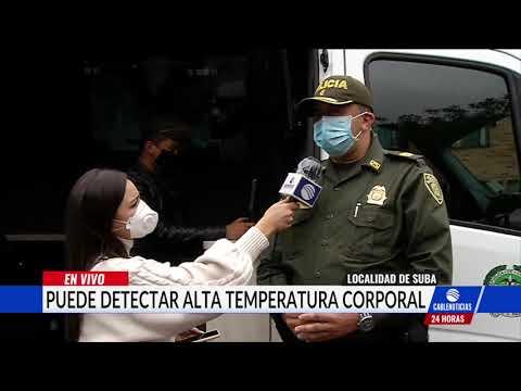 Con drones la Policía vigila zonas naranja en Bogotá