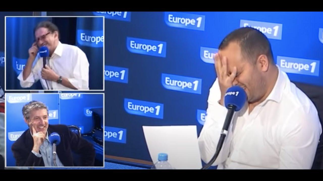 Michel Drucker en pleurs devant les imitations de Jérôme Commandeur