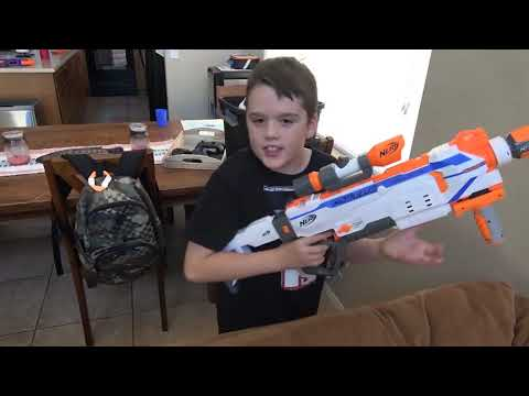 Extreme Toys Short  Capture The Flag Nerf Battle! Ethan and Cole Vs  Mom and Dad Nerf War!