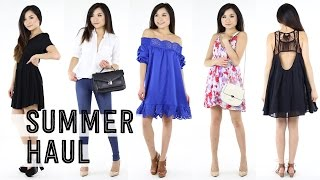 Summer Fashion TRY ON Clothing Haul | Forever 21 SheInside Old Navy Nordstrom Target | Miss Louie
