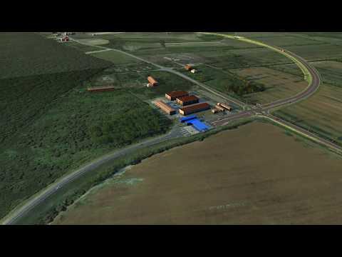 Simulacija mosta Gradiška i brze ceste