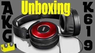 AKG K619 (Vibrant red) Unboxing [Deutsch/HD+]