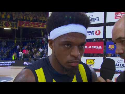 Post-game interview: Bobby Dixon, Fenerbahce Istanbul