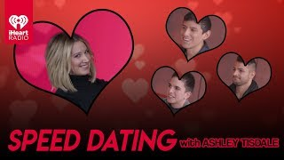 Ashley Tisdale Speed Dates With Lucky Fans! | Speed Dating