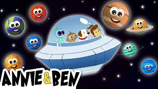 The Great Solar System | Planet Song and More Nursery Rhymes by The Adventures of Annie and Ben