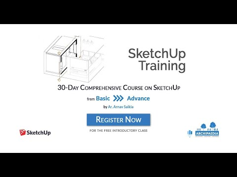 SketchUp Training 30 Day Comprehensive Course Demo - YouTube