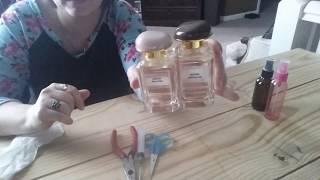 Refilling Empty Perfume Bottle