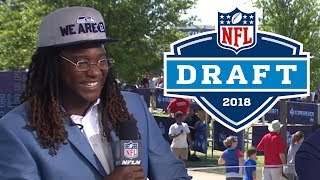 """Shaquem Griffin, """"My brother busted in the restroom and tackled me""""   2018 NFL Draft"""