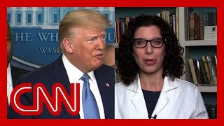 physician on trump's request: it's really impossible