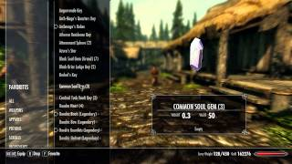 Skyrim Mod Review: KenMOD - Icons - Loading Screen