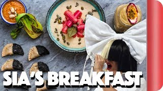 Making Breakfast for Sia | Step Up To The Plate (The most embarrassing video we've ever made!)
