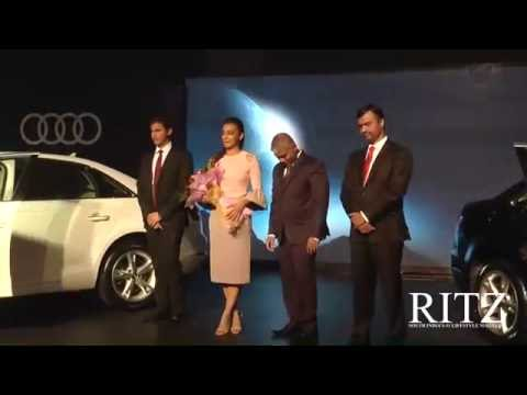 Radhika Apte launches the sizzling new Audi A4 in Chennai
