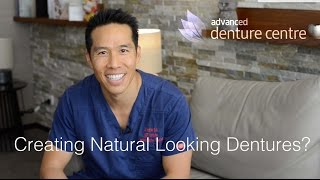 Creating Natural Looking Dentures