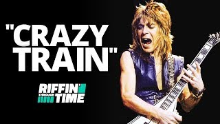 """Crazy Train"" - Ozzy Osbourne 