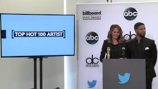 Top Hot 100 Artist Finalists - BBMA Nominations 2015
