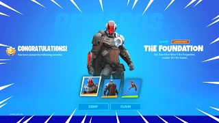 How to Get THE FOUNDATION Skin in Fortnite!