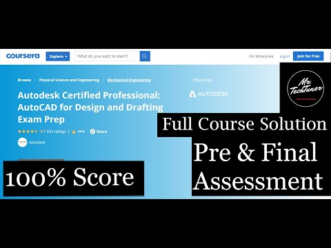 Autodesk Certified Professional:AutoCAD for Design and Drafting ...