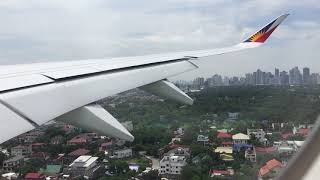 A350 XWB   Philippine Airlines A350 Landing in Manila