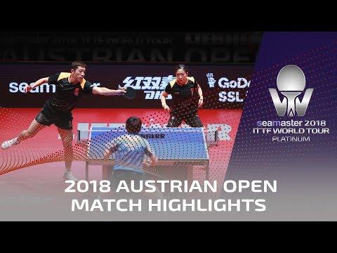 Xu Xin/Liu Shiwen vs Chen Chien-An/Cheng I Ching | 2018 ITTF Austrian Open Highlights ( Final )