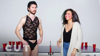 Blind Dates Play Fear Pong (Jet vs. Lanesha) | Fear Pong | Cut