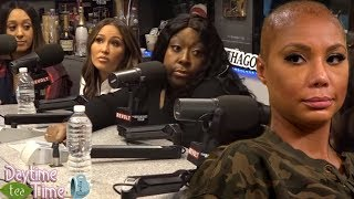 Loni Love TELLS ALL about TAMAR BRAXTON getting FIRED   VINCE is to blame and TAMAR knows THE TRUTH!