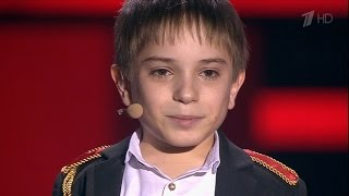 The Voice Kids RU 2016 Danil — «Два орла» Blind Auditions | Голос Дети 3. Данил Плужников. СП